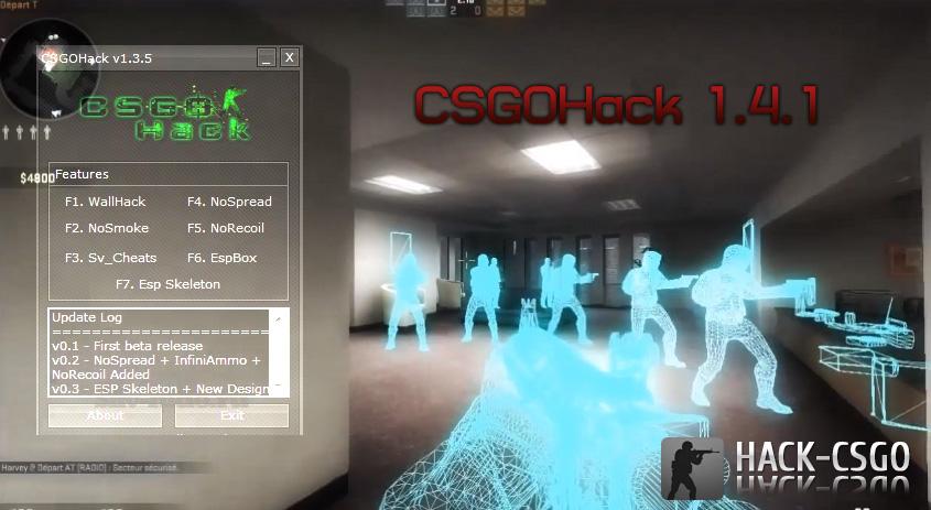 Скачать Чит для того CS:GO Мультихак CSGOHack 0.4.1 CS GO (NEW)