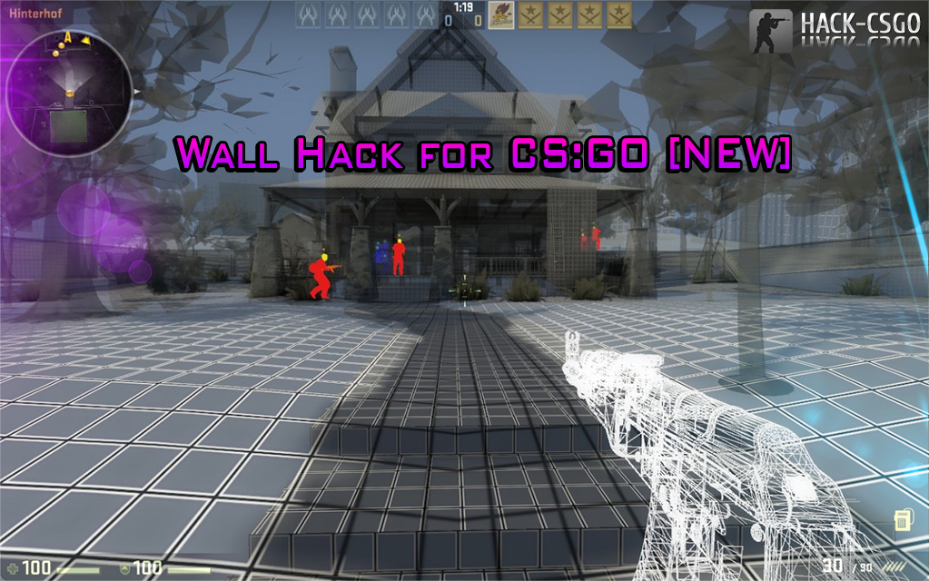 Скачать Чит WallHack [CS:GO] Custom Materials v. 3.0